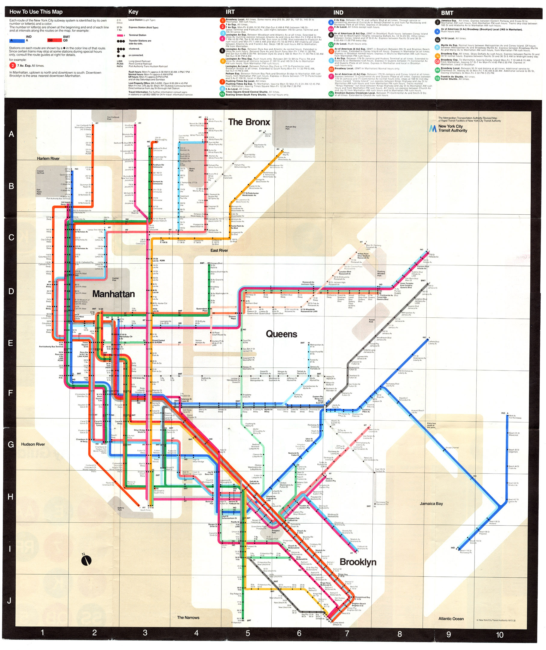 Subway Map With Second Avenue.Nyc Subway Map History Global Map