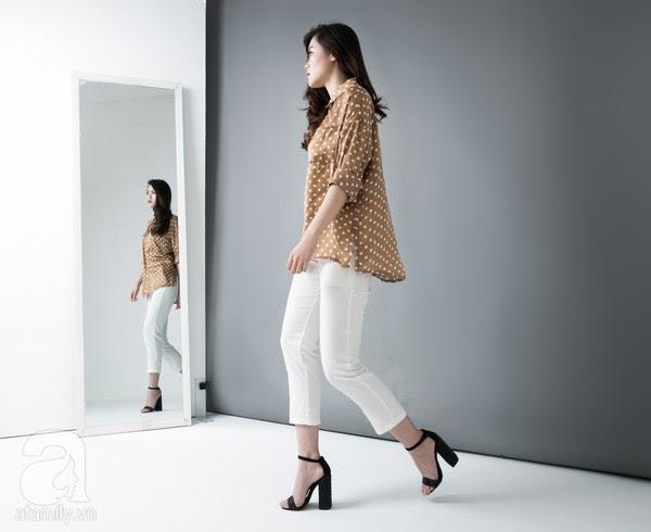 9 chiếc quần vải dưới 700 ngàn VNĐ cho nàng hông to & chân cong 10