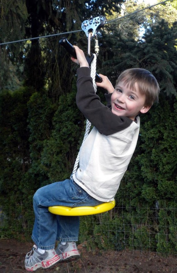DIY Tree Swing Ideas For More Family Time (32)