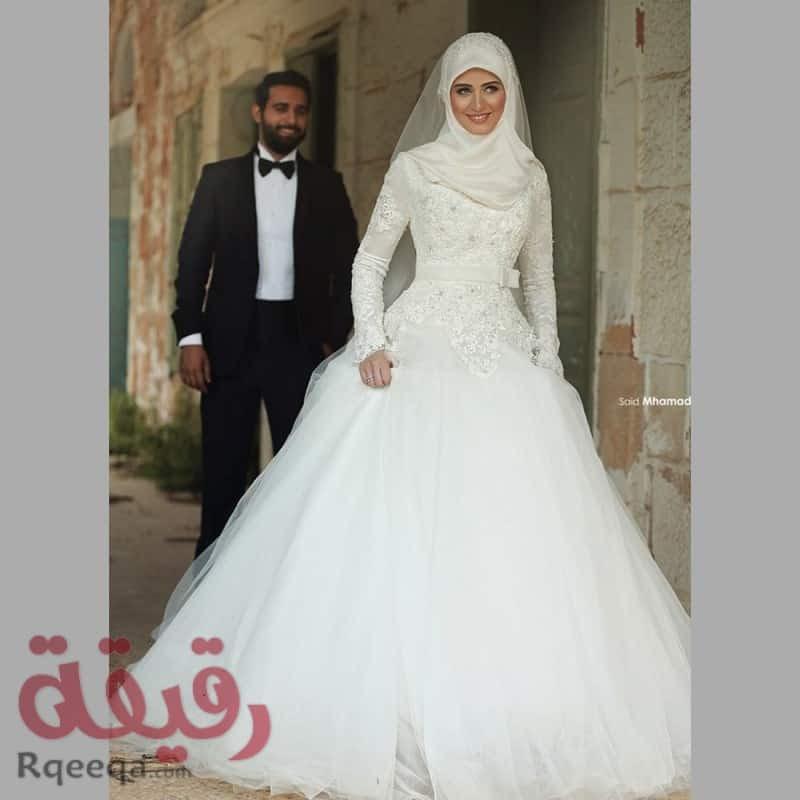 0f9d524b8 فساتين زفاف 2016 ازياء عالمية محجبات - مصراوى الشامل