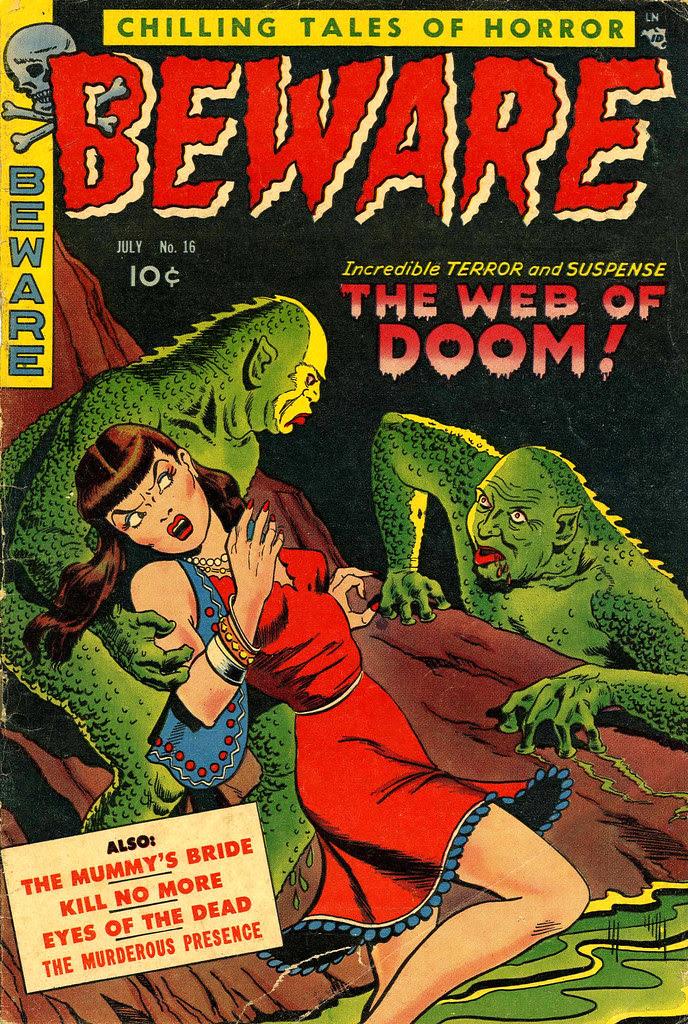 Beware #16 (Trojan/Prime, 1953)