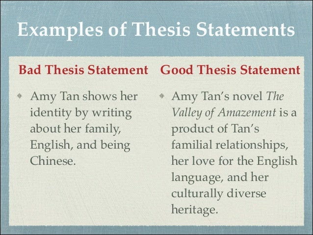 how to write a good thesis statement tips for beginners