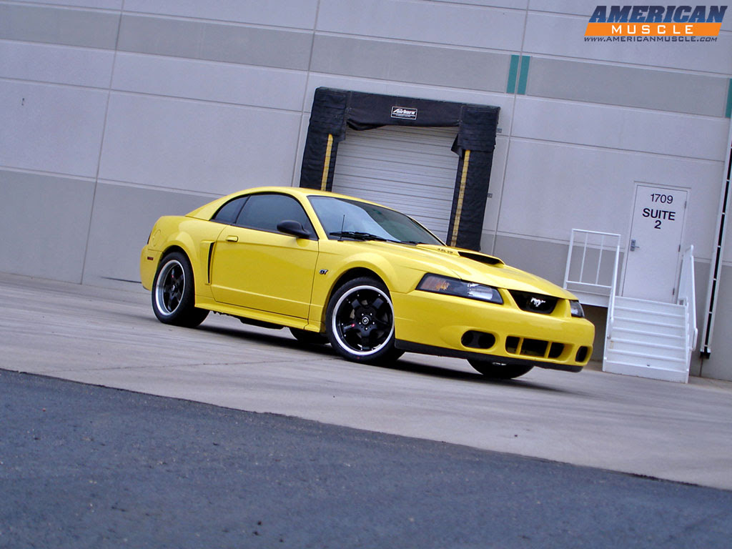 ford mustang yellow wallpapers - DriverLayer Search Engine