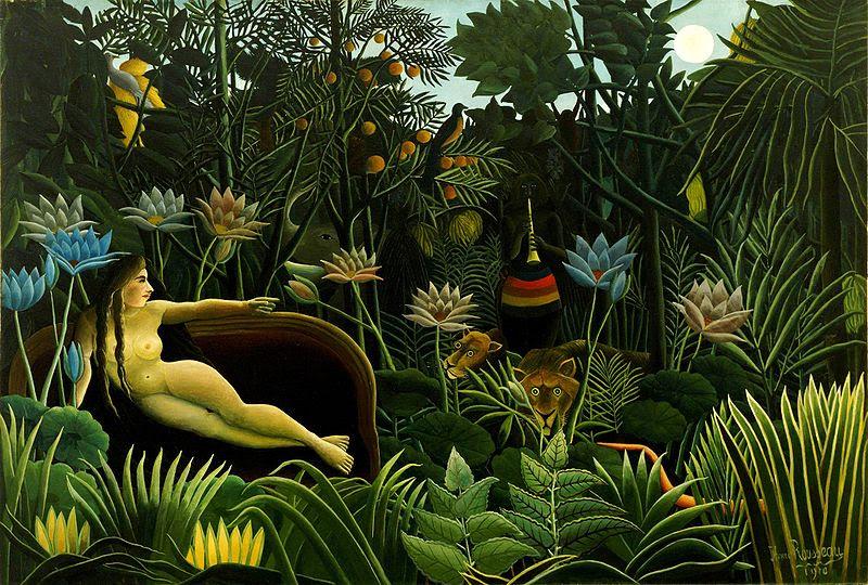 Henri Rousseau, The Dream.