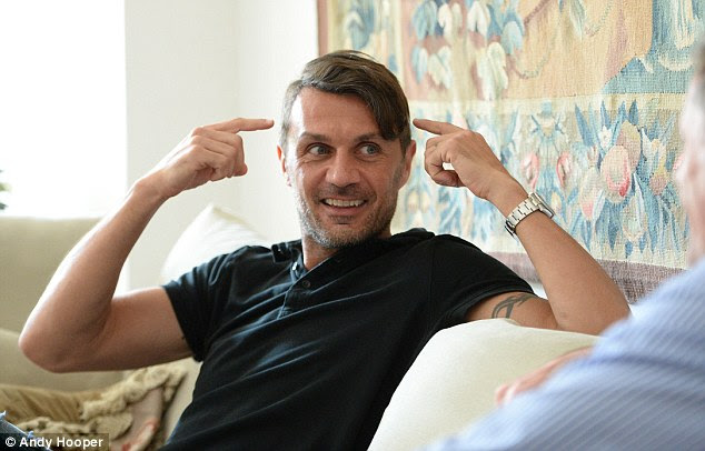 Maldini said the Liverpool supporters played a huge part in their side's comeback