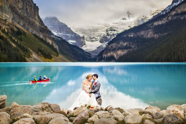Lake Louise destination wedding