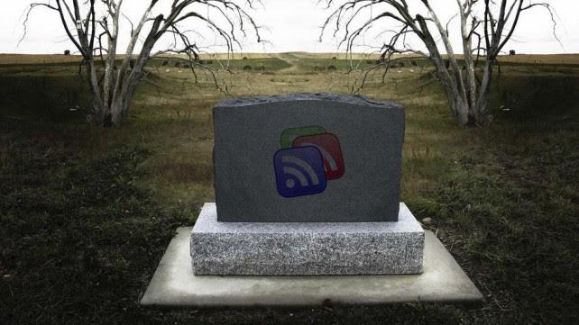 Google Reader Tombstone