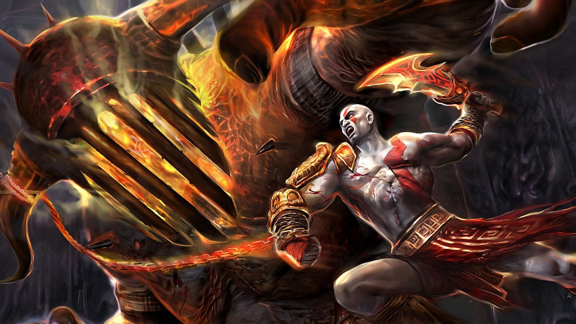 Kratos God Of War Wallpapers 36 Wallpapers Adorable Wallpapers