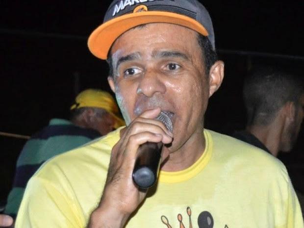 César Monteiro foi assassinado a tiros em Grossos nesta quarta (11) (Foto: Marcelino Neto/G1)