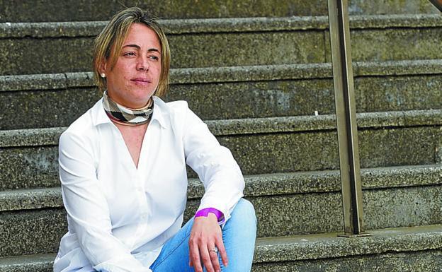 La irunesa María Cortijo, vocal de Adeles-Gipuzkoa./F. DE LA HERA
