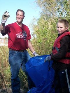 Kansas City Missouri River Clean-up 10-20-12