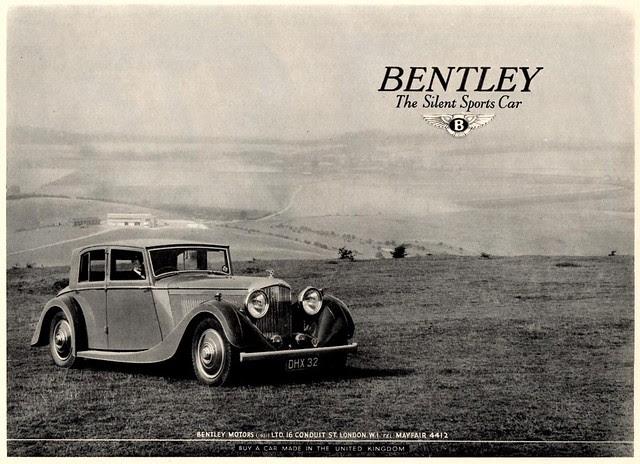1937 Bentley 4-1/4 Litre Saloon