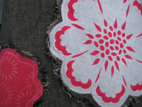 Raw Edge Applique by Poppyprint