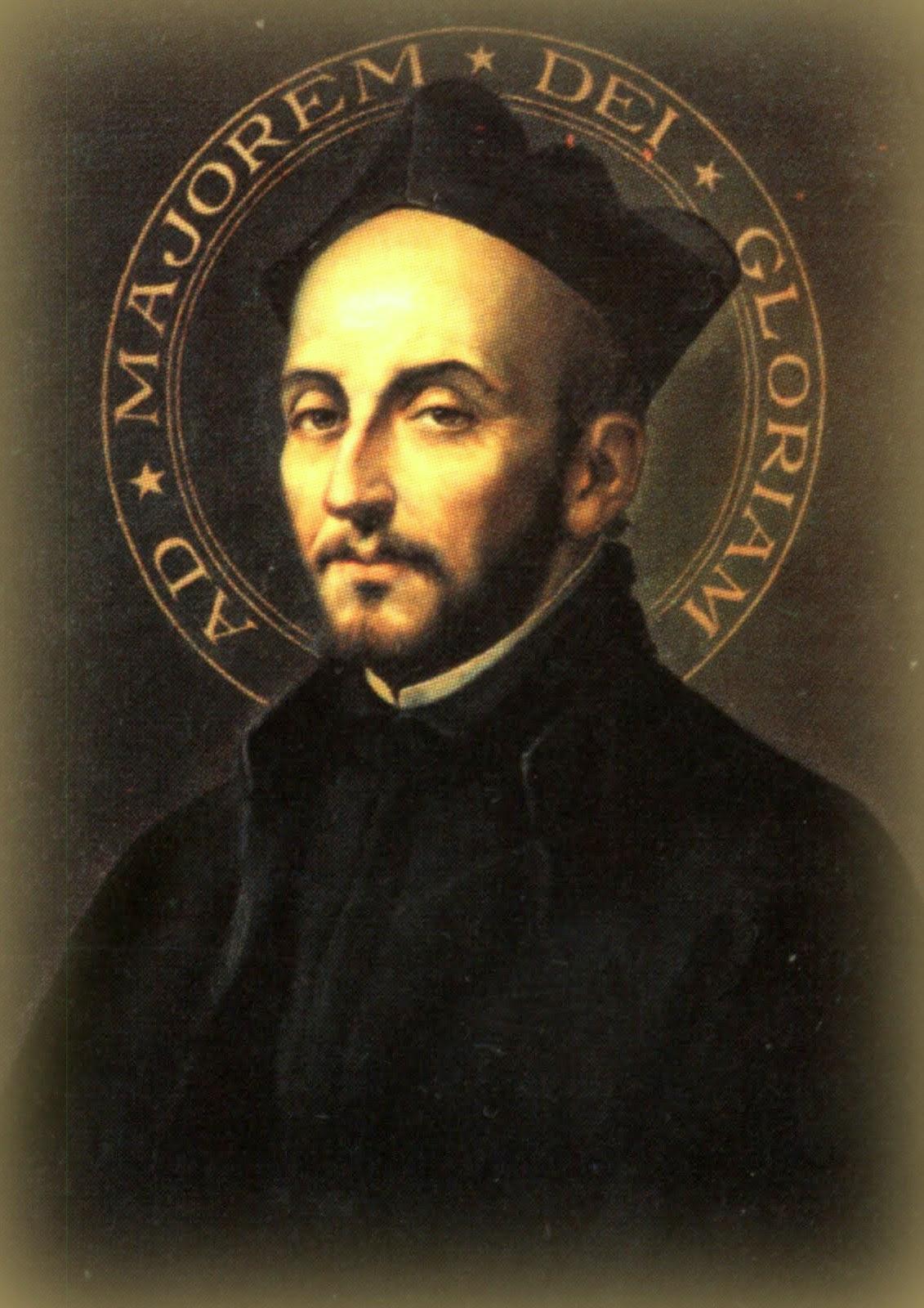 Znalezione obrazy dla zapytania ignacy Loyola Tradycja Katolicka