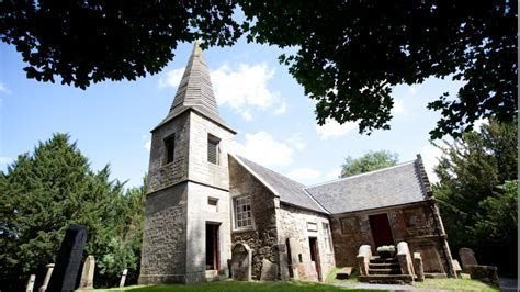 JAMIE and CLAIRE's WEDDING CHAPEL   Glencorse Old Kirk
