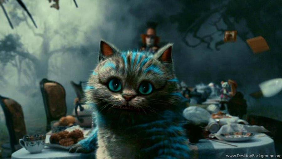 Cheshire Cat Alice In Wonderland Wallpaper Cartoon