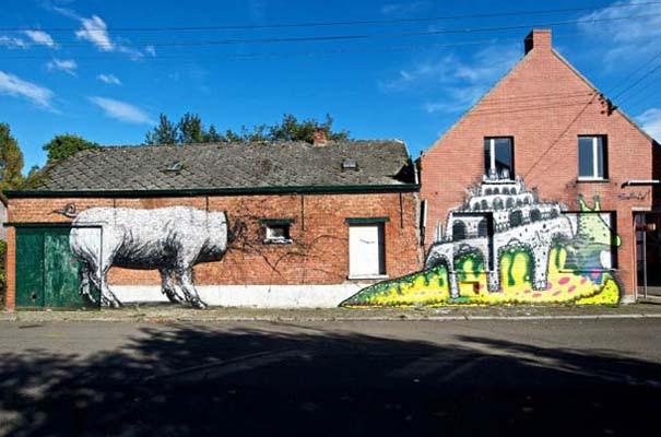 Doel: Το εγκαταλελειμμένο χωριό που παραδόθηκε στην τέχνη του δρόμου (21)