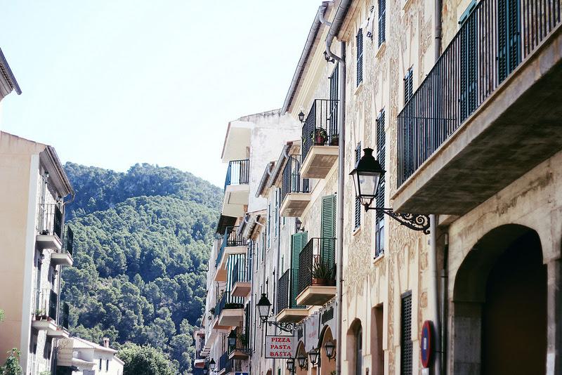 Casas, Mallorca, montaña, naturaleza
