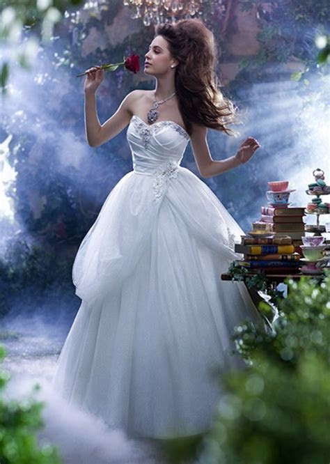 The most beautiful wedding dresses inspired by Disney