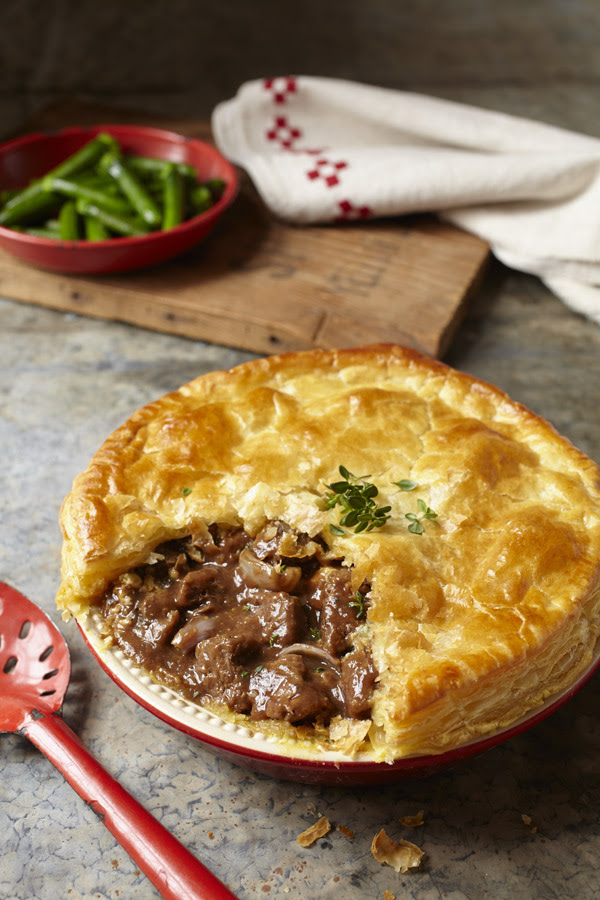 Recipe | steak, dark ale and stilton pie | InDaily