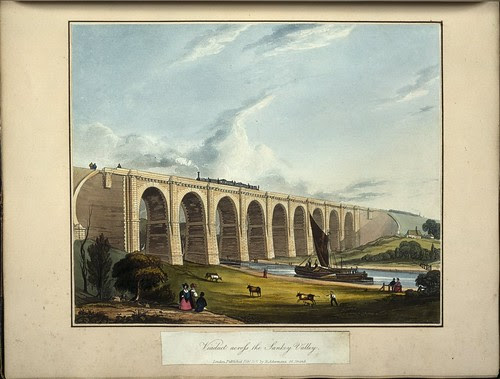 Viaduct across the Sankey Valley