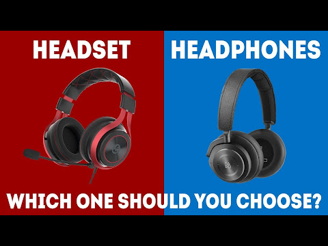 Gaming Headset Vs Headphones
