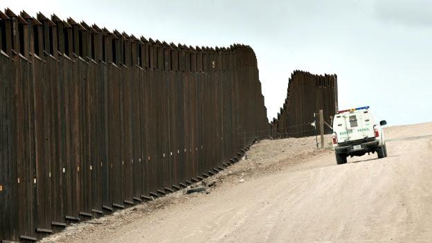 Muro que divide la frontera entre México y Estados Unidos. Foto: AFP/Getty