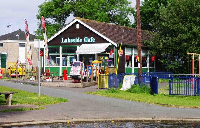 Lakeside Cafe Lake Grounds Portishead P L Chadwick