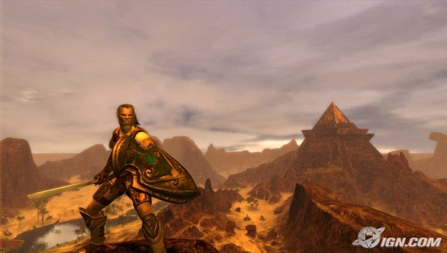 Age of Conan - Hyborian Adventures Screenshot
