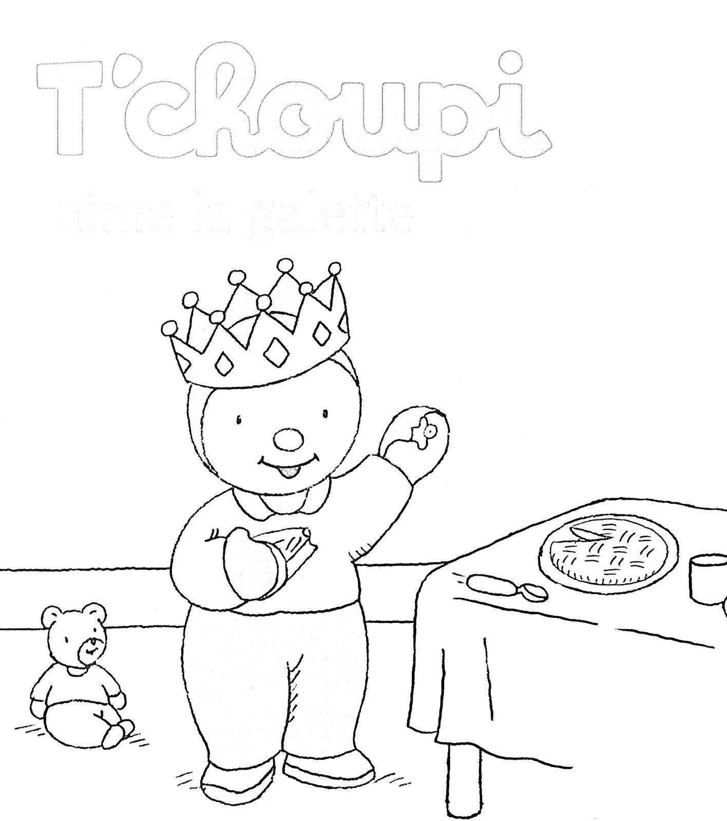 Tchoupi aime la galette couverture NB