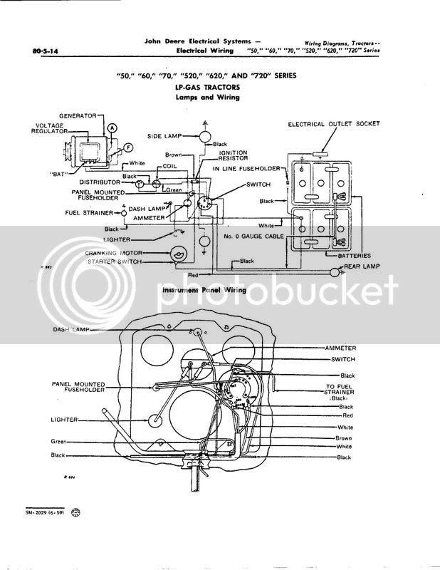 Wiring Diagram For John Deere Model 60