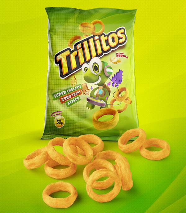 Trillitos Chips Packaging 30+ Crispy Potato Chips Packaging Design Ideas