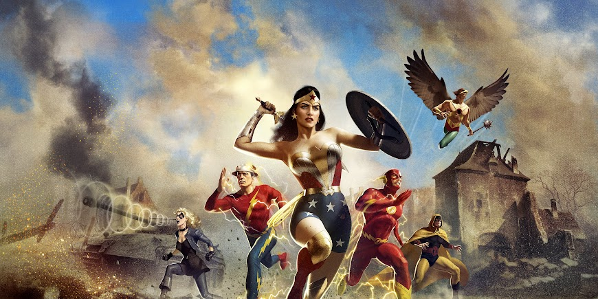 Justice Society: World War II (2021) FULL HD Movie English Film Free Watch Online