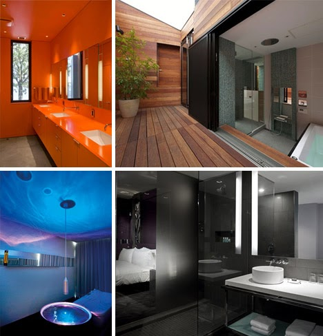saeba: bold bathroom ideas: pictures of 7 luxury