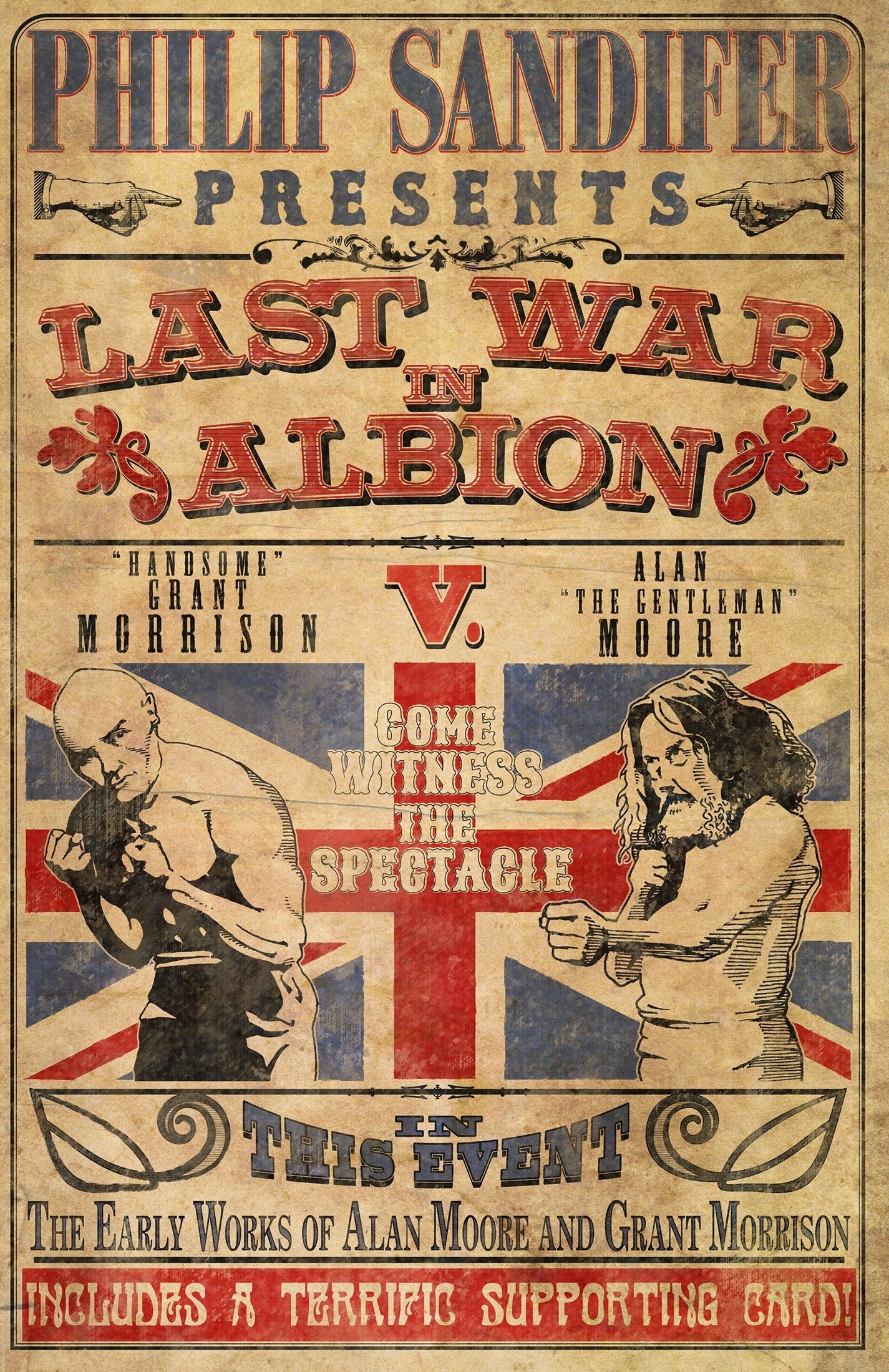 Image result for Philip Sandifer, The Last War in Albion Volume 1: The Early Work of Alan Moore and Grant Morrison