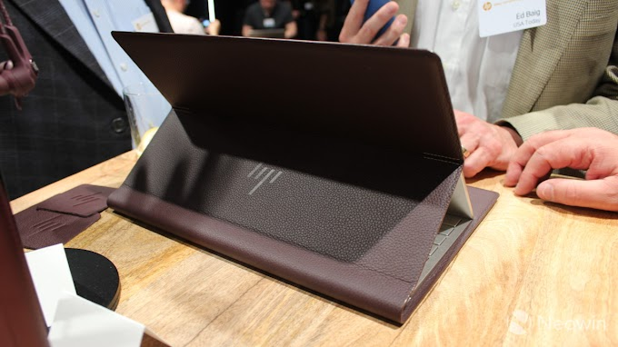 HP Spectre Folio review: Redefining the PC with a leather convertible