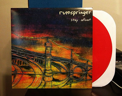 Rumspringer - Stay Afloat LP - Red Vinyl (/113) by Tim PopKid