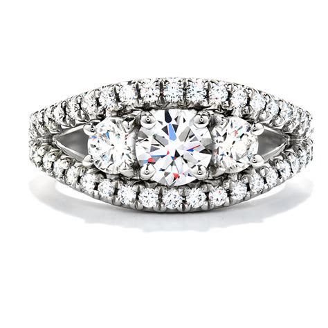 Hearts on Fire Engagement Ring 7   Brombergs
