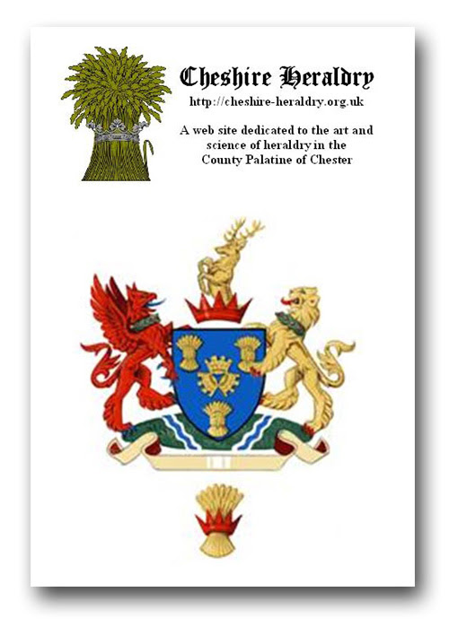 Cheshire Heraldry old logo - a comparison with Cheshire East
