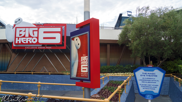 Disneyland Resort, Disneyland, Tomorrowland, Big, Hero, 6, Magic, Eye, Theater, Refurbishment, Refurbish, Refurb