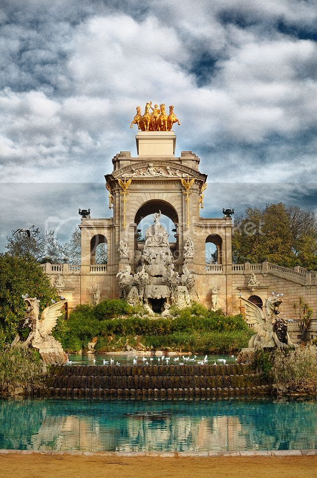 The Cascade Fountain by Josep Fontser, Parc de la Ciutadella, Barcelona[enlarge]