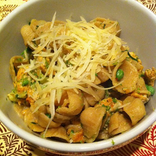 Orecchiette w/ Spicy Sausage & Broccoli Rabe