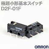 オムロン(OMRON) D2F-01F 形D2F極超小形基本スイッチ (ピン押ボタン形) NN