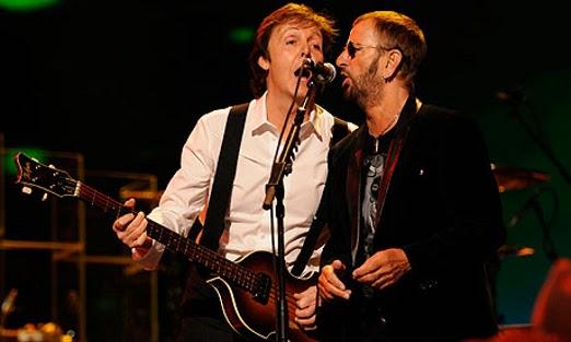 Paul McCartney e Ringo Starr irão se apresentar no Grammy 2014
