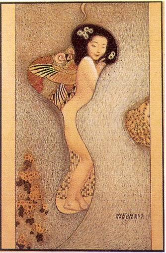 Walter Hempel, Japonese Woman, c. 1910
