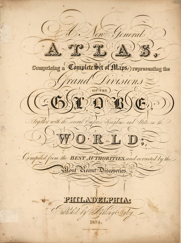 A New General Atlas comprising a complete set of maps representing the grand divisions of the globe 1824