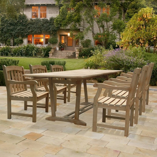 Outdoor Wood Patio Dining Sets