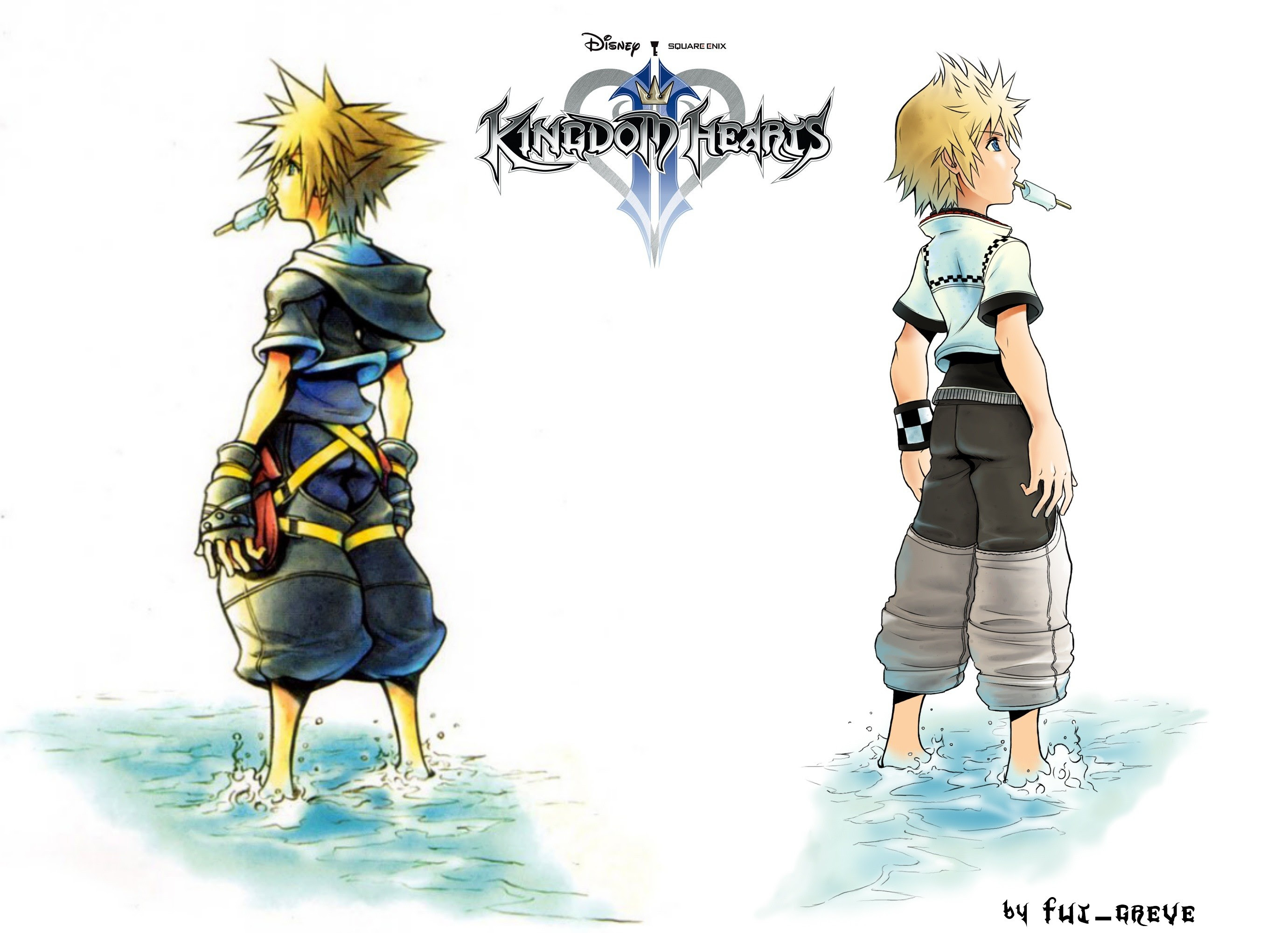 Kingdom Hearts 2 Roxas Wallpaper 62 Images