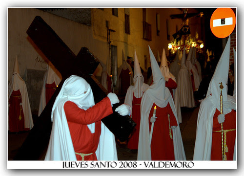Jueves Santo, procesión en Valdemoro