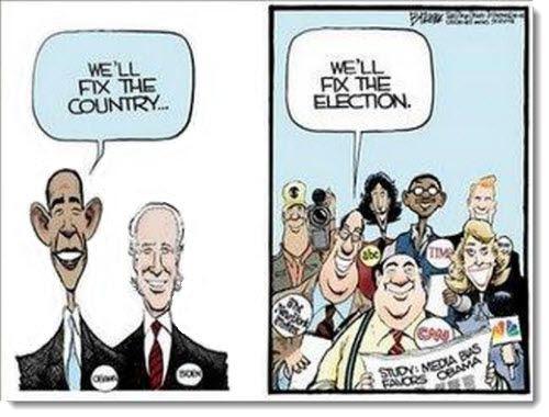 Image result for media bias cartoons